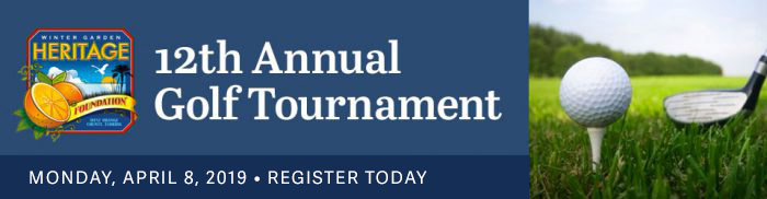 12th Annual Golf Tournament. Monday April 8, 2019. Register Today