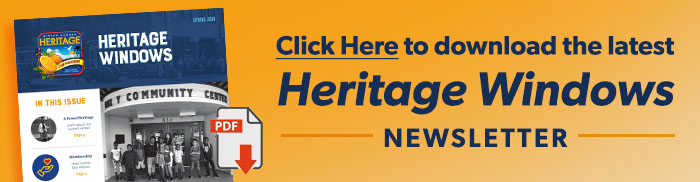 Click Here to download the latest Heritage Windows Newsletter.